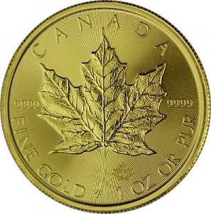Maple Leaf 1oz Gold - 2021
