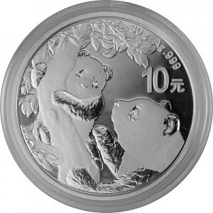 China Panda 30g Silber - 2021