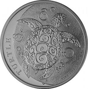 Niue Schildkröte 1oz Silber - 2021