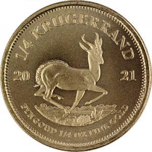 Krügerrand 1/4oz Gold - 2021