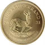 Krügerrand 1/10oz Gold - 2021