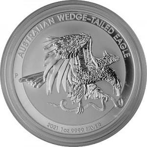 Keilschwanz Adler Australien (Wedge Tailed Eagle) 1oz Silber - 2021