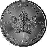Maple Leaf 1oz Silber - 2021