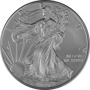 American Eagle 1oz Silber - 2021