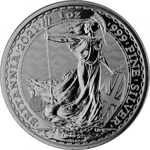 Britannia 1oz Silber - 2021