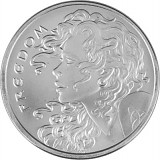 Freedom Girl 1oz Silber