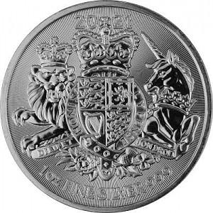 Großbritannien Königliches Wappen 1 Unze Silber - 2021