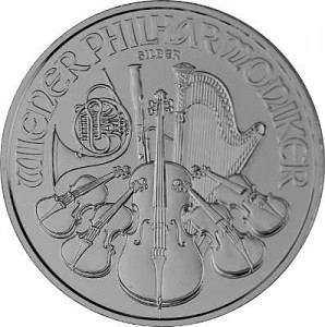 Wiener Philharmoniker 1oz Silber - 2021