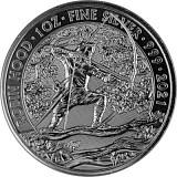 Großbritannien Mythen und Legenden Robin Hood 1oz Silber - 2021