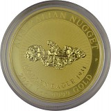 Australian Nugget 1oz Gold - Golden Eagle 2021