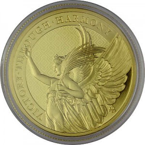 St. Helena The Queen's Virtues Victory 1oz Gold - 2021