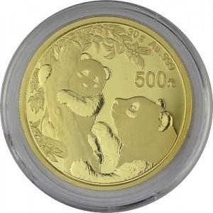 China Panda 30g Gold - 2021