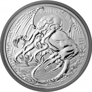 Tokelau The Great Old One - Cthulhu 1 oz Silber - 2021