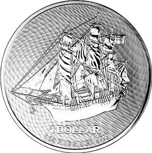 Cook Island 1oz Silber - 2021