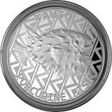 Tokelau Igelfisch 1oz Silber - 2021