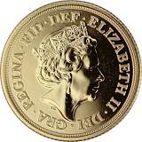 1 Pfund Sovereign Elisabeth II. 7,32g Gold - 2021