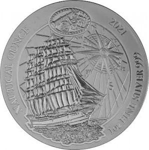 Ruanda Nautical Serie - Sedow 1 Unze Silber - 2021 (regelbesteuert)
