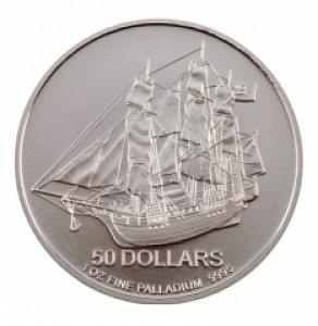 Cook Islands 1oz Palladium (regelbesteuert)