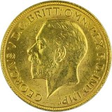 1 Pfund Sovereign George V. 7,32g Gold