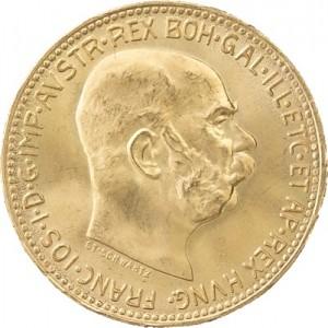 20 Kronen Österreich 6,09g Gold