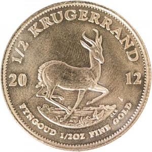Krugerrand 1/2oz Gold