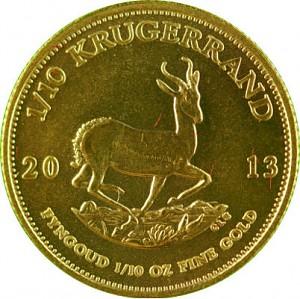 Krügerrand 1/10oz Gold