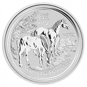Lunar II Pferd 1kg Silber - 2014