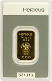 Goldbarren 10g - Heraeus