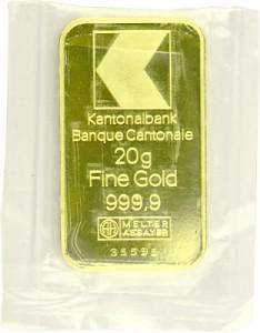 Goldbarren 20g - verschiedene Hersteller