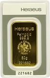 Goldbarren 50g - Heraeus