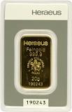 Goldbarren 20g - Heraeus
