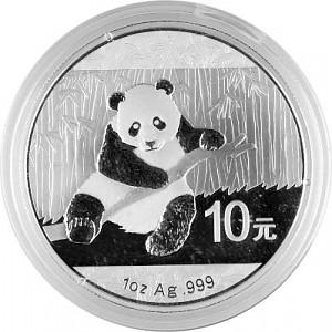 China Panda 1oz Silber - 2014
