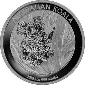 Koala 1oz Silber - 2013