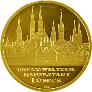100 Euro 1/2oz Gold - 2007 Lübeck