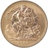 1 Pfund Sovereign Elisabeth II. Haarb. 7,32g Gold
