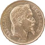 20 Francs Napoleon III. 5,81g Gold