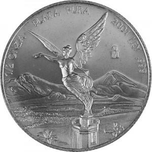 Libertad 1/2oz Silber - 2001