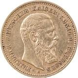 10 Mark Friedrich III. 3,58g Gold