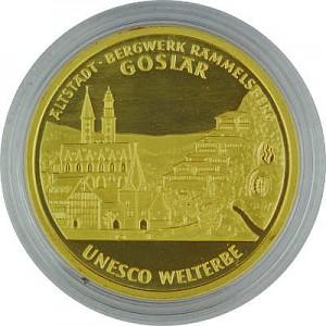 100 Euro allemand 1/2oz d'or fin - 2008 Goslar