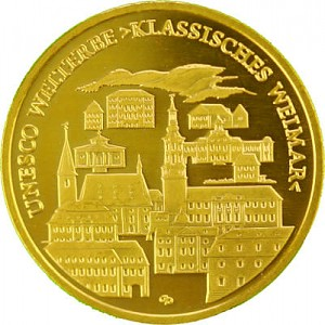 100 Euro 1/2oz Gold - 2006 Weimar