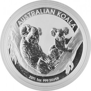 Koala 1oz Silber - 2011