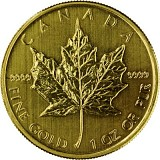 Maple Leaf 1oz Gold