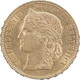 20 Schweizer Franken Helvetia 5,81g Gold