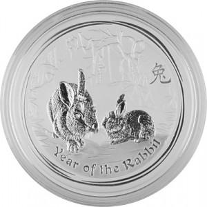 Lunar II Hase 1kg Silber - 2011