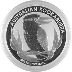Kookaburra 10oz Silver - 2012