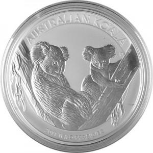 Koala 1kg Silver - 2011