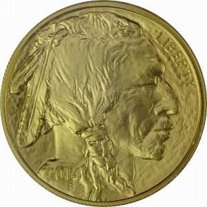 American Buffalo 1oz Gold - 2014