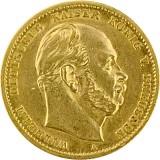 10 Mark Wilhelm I. 3,58g Gold