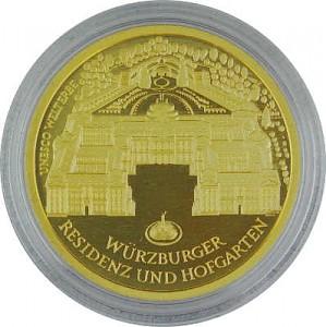 100 Euro 1/2oz Gold - 2010 Würzburg