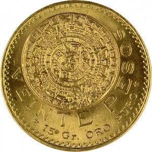 20 Pesos Mexico 14,99g Gold